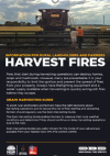 Picture of Harvest Fires - Information for Rural Landholders and Farmers