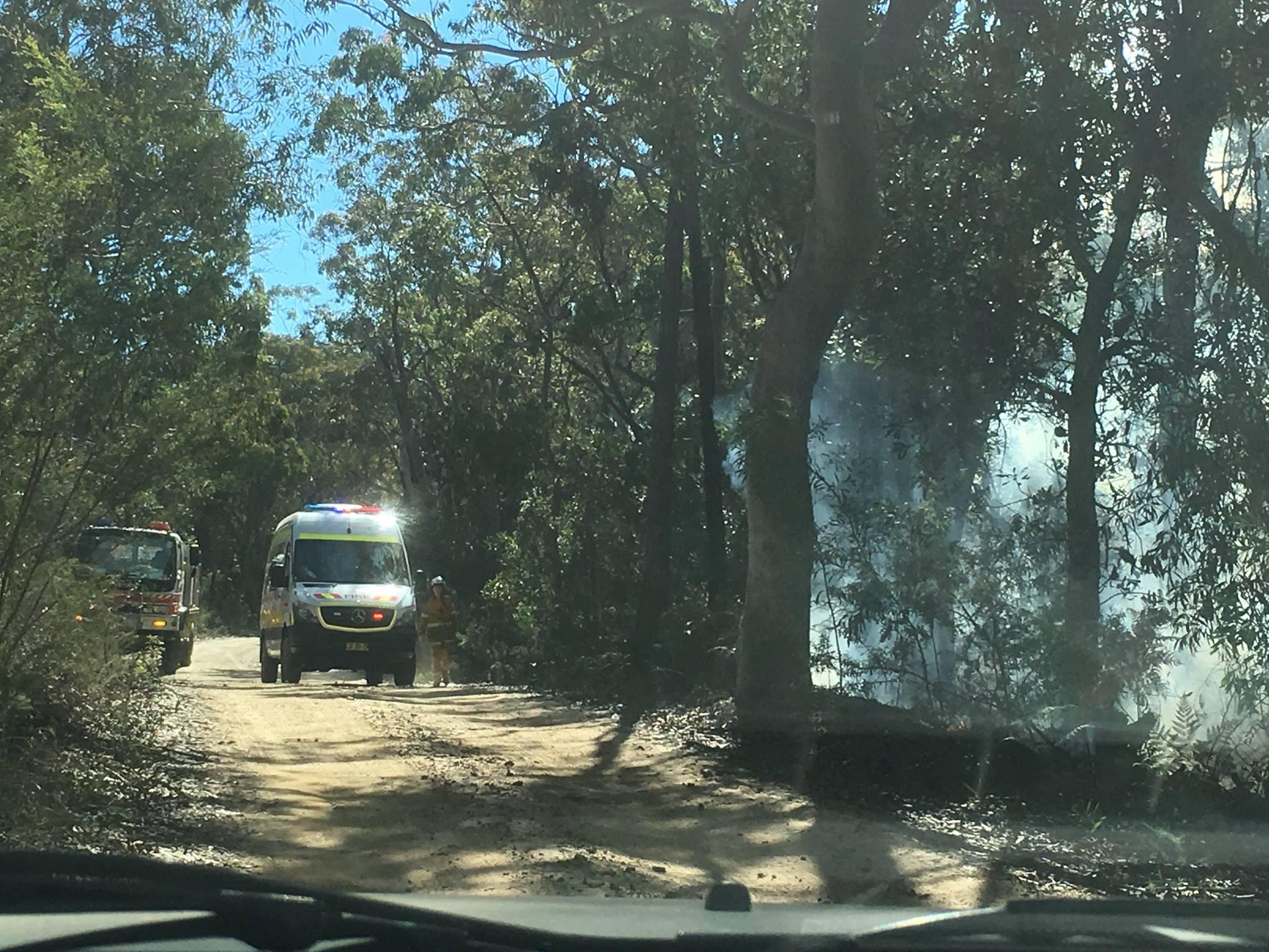 Harris Creek Hazard Reduction Wentworth Falls 6