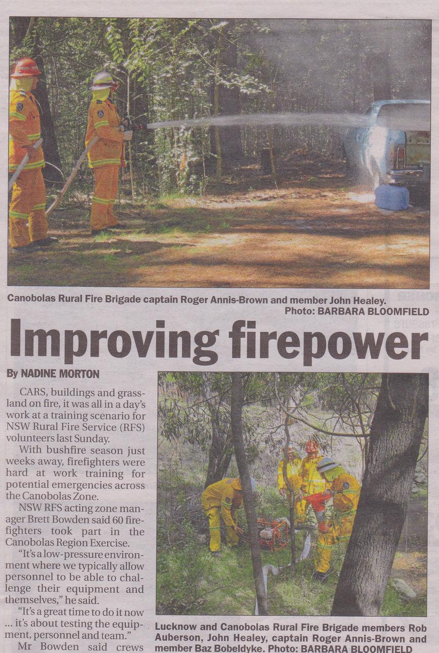 Improving Firepower