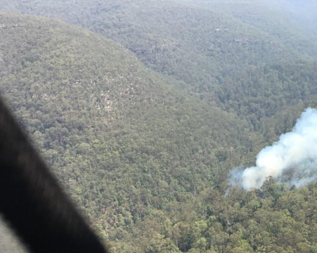Linden Creek Fire 1