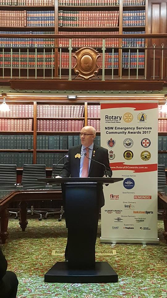 Rotary NSW Emergency Services Community Awards 4