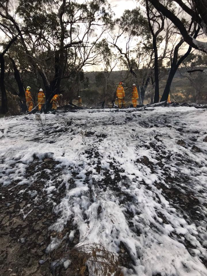 Spring Gully Road Fire 1