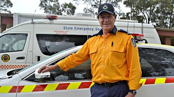 Michael Evans - 2015 Illawarra Volunteer of the Year