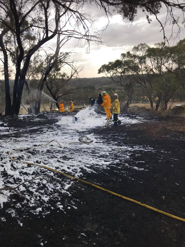 Spring Gully Road Fire 2