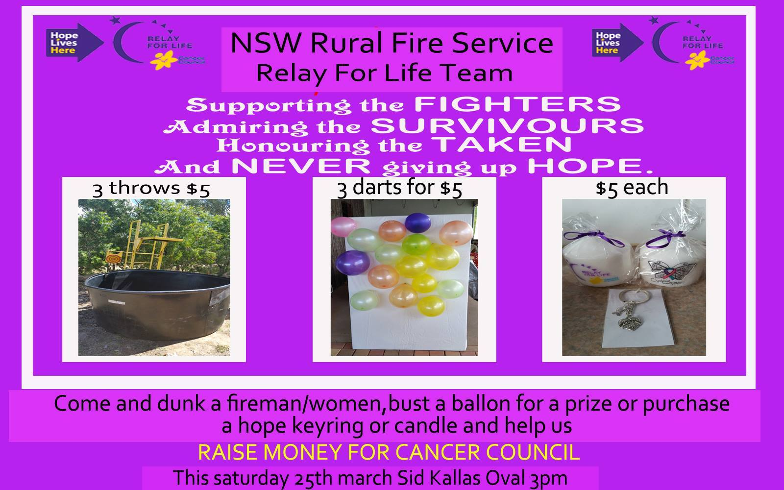 Cowra Relay for Life 1
