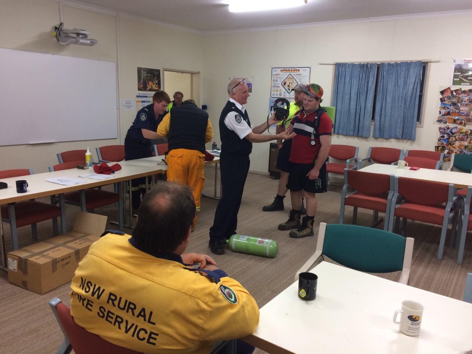 CABA training for Waugoola Brigade 2