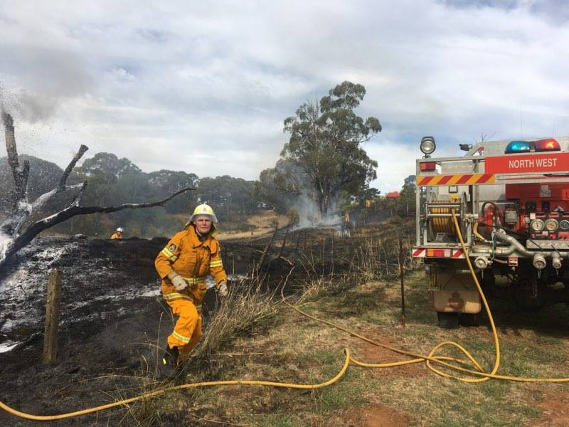 Stanford Road Fire 2