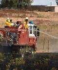 Old Dubbo Road Fire 25-11-2013