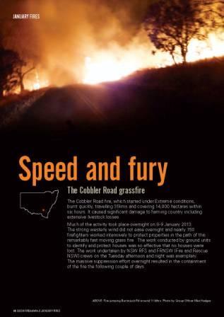 Cobbler Road fire