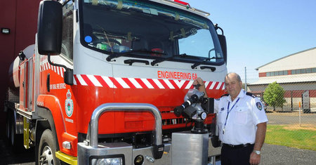 Big red truck to loom large nsw rural fire service big red truck to loom large publicscrutiny Images