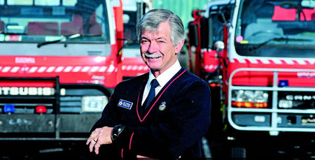 Roy's distinguished service in the line of fire
