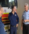 Delroy NSW Fire and Rescue assists at Coonabarabran