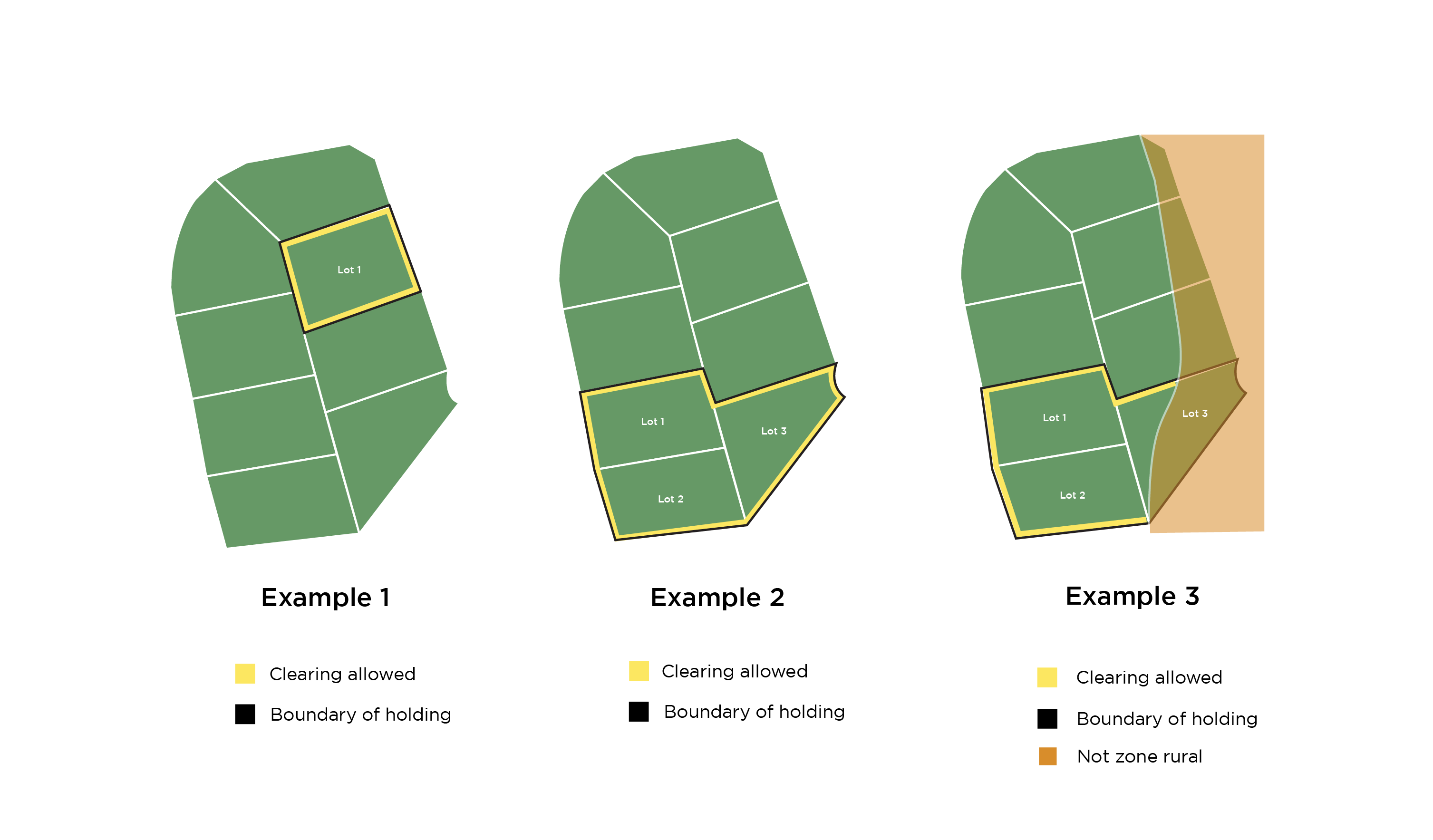 Example of Rural Boundary Clearing code apply on holdings