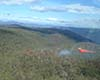 Aviation drop over Round Waterhole fire. Photo by Tim Butcher