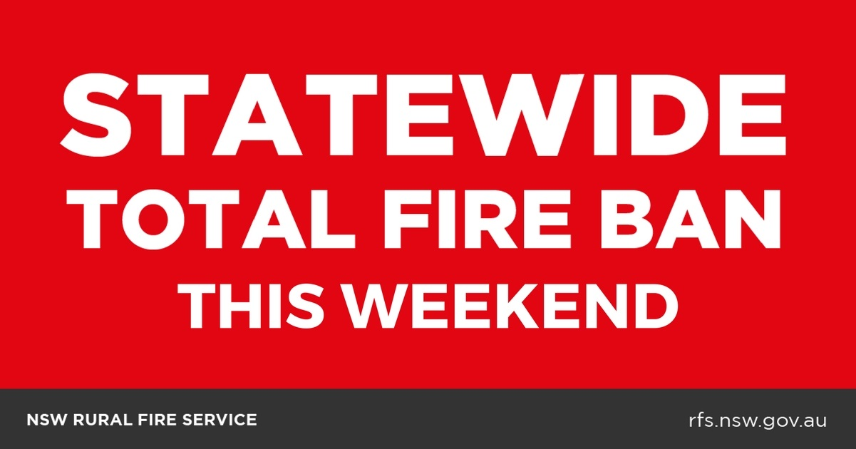 Statewide Total Fire Ban