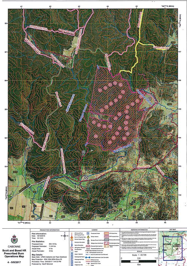 South East of the Nangar National Park Hazard Reduction 1