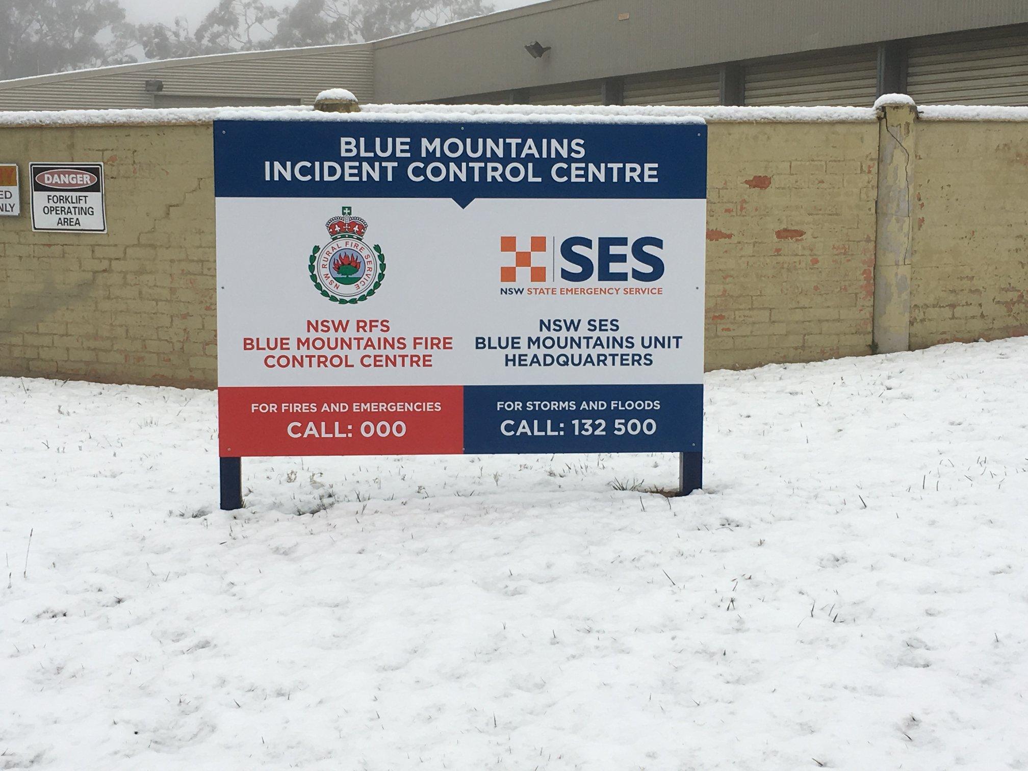 Blue Mountains Snow 1