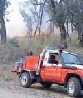 Roseberg hazard reduction burn