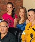 Firefighter has family support
