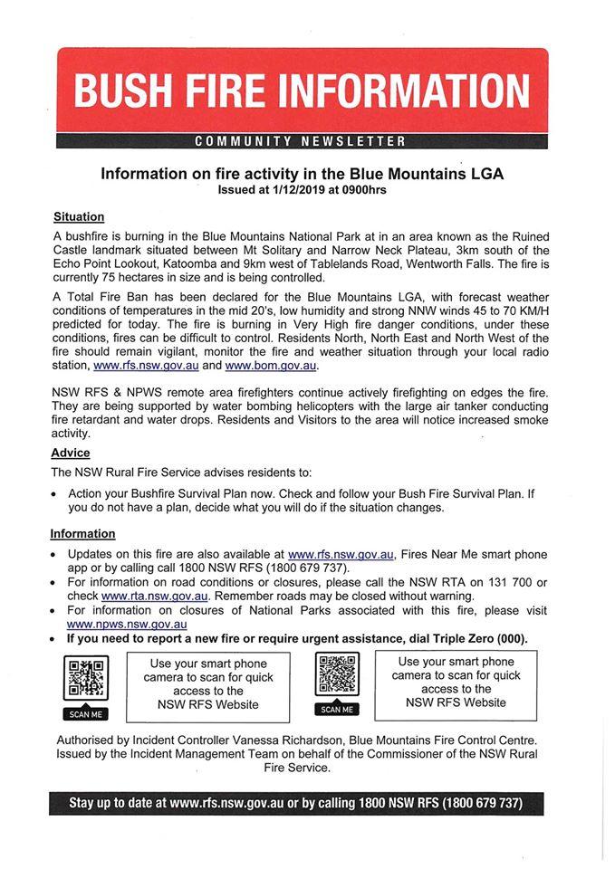 Community Newsletter Blue Mountains