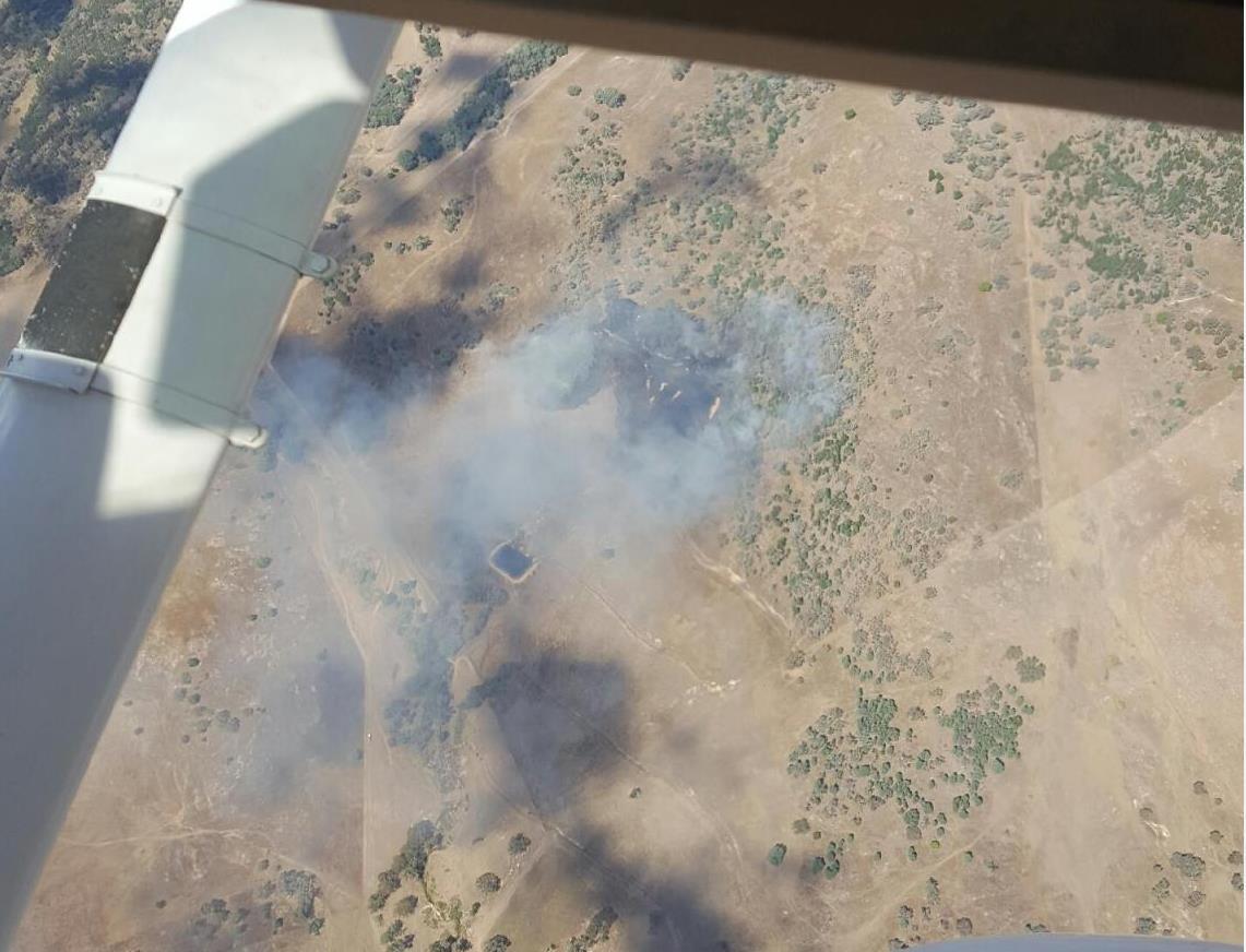 Gullendah road fire Baldry 2
