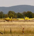 Cowra Airport during the Decca Fire