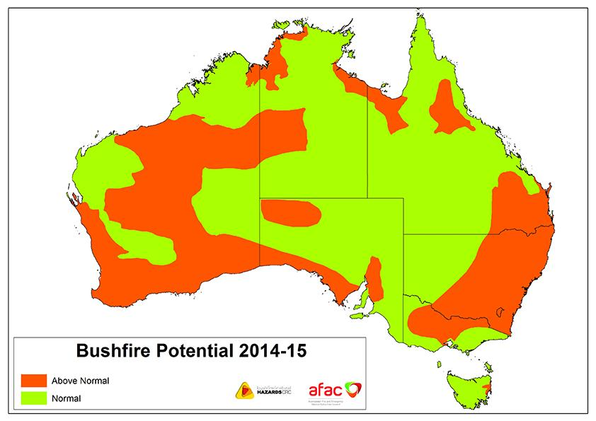 Bushfire and Natural Hazards CRC Outlook 2014-15