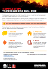 Picture of 4 Simple Steps To Prepare For Bush Fire
