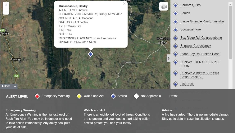 Gullendah road fire Baldry 4