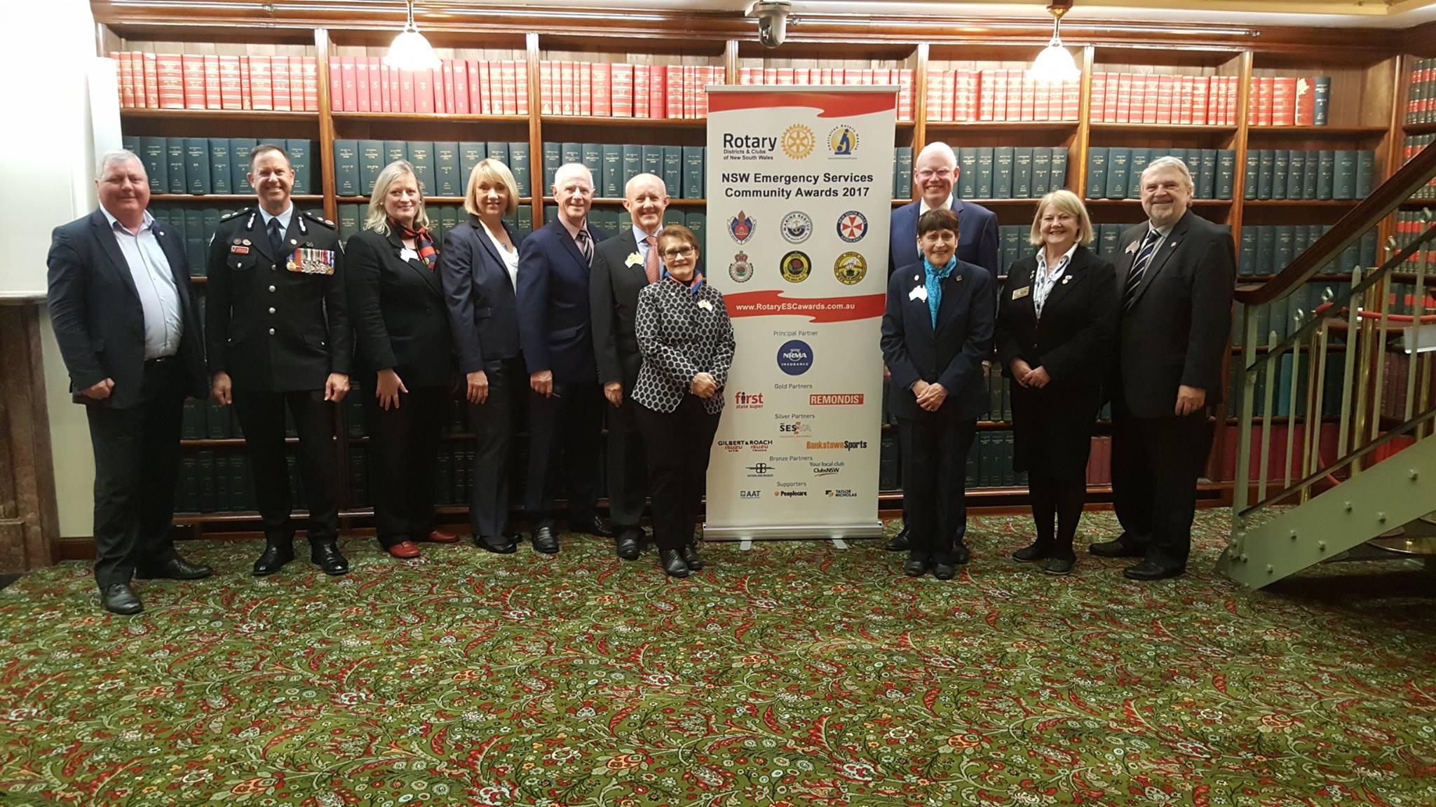 Rotary NSW Emergency Services Community Awards 8